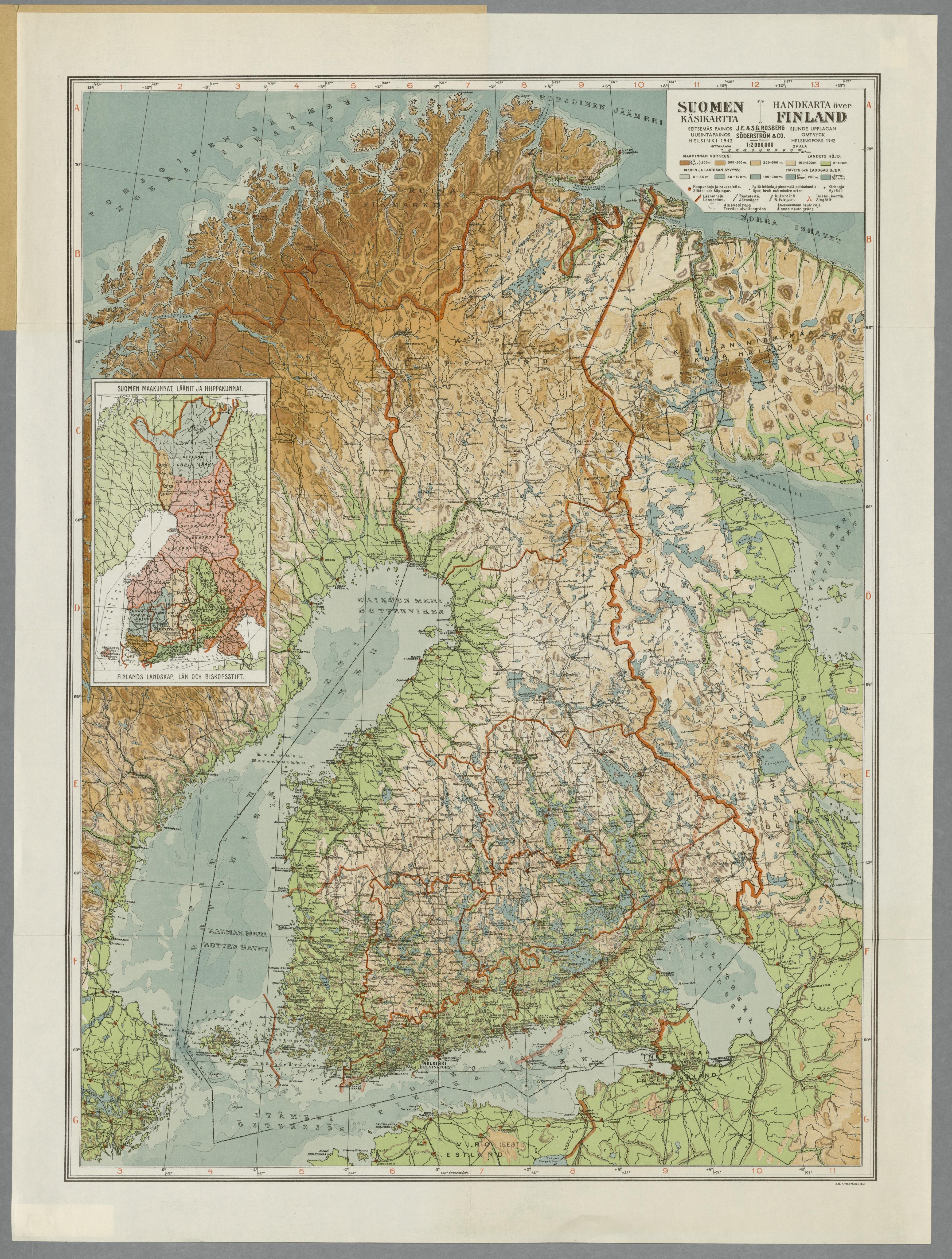 Historical Maps Of Scandinavia