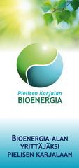 Pielisen Karjalan Bioenergiaverkostot ja -virrat hankkeen visuaalinen ilme ja markkinointimateriaalit (PIKES)