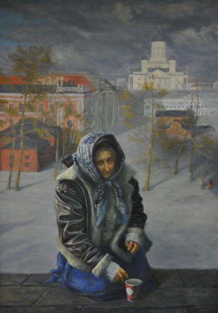 SOLD, 2016, Köyhyyden muistomerkki