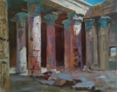 Study of Polenov`s painting, 2020