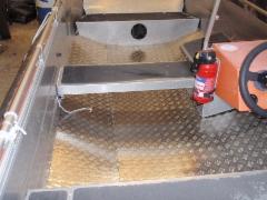 Buster R uusi sisäpohja alumiinista