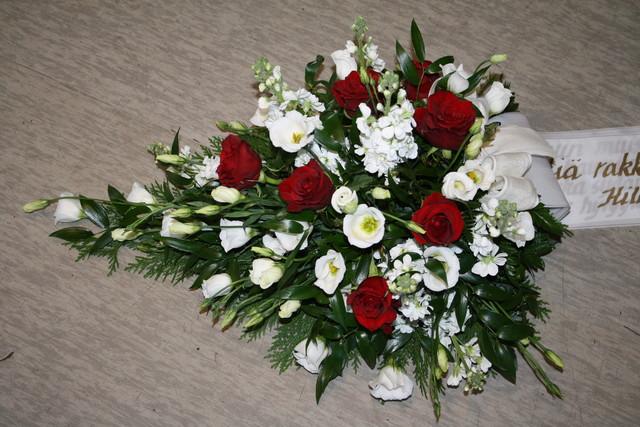 nro 23 Eustoma, ruusu ja leukoija