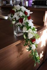 Gladiolus, eustoma ja neilikka
