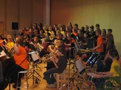 Musiikkiopiston 20v-juhlakonsertti Suolahtisalissa 2.11.2008