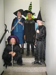 Noitakvartetti poseeraa 23.10.2009