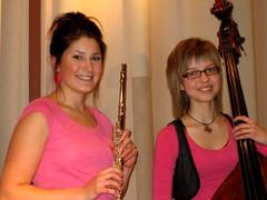 """""""A due voci"""" -konsertin harjoituksissa marraskuussa 2009"""