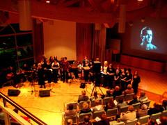 Laulajien Rautavaara -konsertti Äänekoskella torstaina 11.2.2010. Bändinä Hedge Hog.
