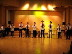 Trumpettikopla stagella 27.5.2010