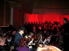 Musiikkiopiston Across The Stars -elokuvamusiikin konsertti Suolahtisalissa 13.11.2010