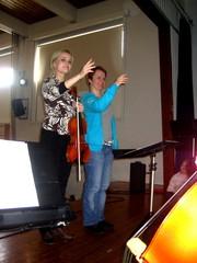 Piccoliinoluotsit Anne ja Satu maaliskuussa 2011