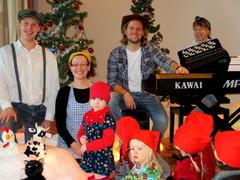 Äänekosken perhepäivähoitolasten joulukonsertti maalaistunnelmissa 4.12.2012
