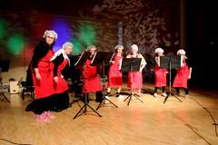 J.B. Eriksson: Music For a Cranky old Lady. Musiikkiopistomme, ah niin hehkeät leidit lavalla 9.3.2013