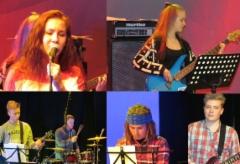 Against The Wind -bändi Rokkia-Raivoa-Rakkautta -konsertissa 27.1.2016