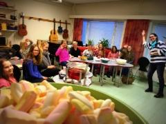 Musiikkiopiston Soivan Viikon leffailtaa vietettiin poppareiden ja vaahtokarkkien seassa 17.2.2016