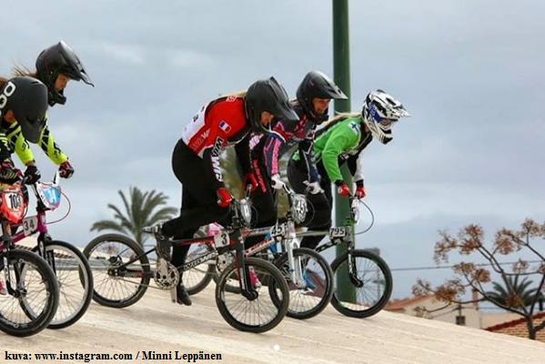 bmx_racing_-_kilpapyorailija_minni_leppanen_-_kilpailukausi_2018_alkanut_espanjassa_-_campello_-_valencia_-_tsemppia_minni_kisoihin