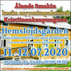 alands_smakin_kesan_myyntitapahtuma_kristiinankaupungissa_hemslojdsgardenin_pihapiirissa_11.-12.07.2020_-_tervetuloa