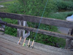 Fly fishing rods, ...