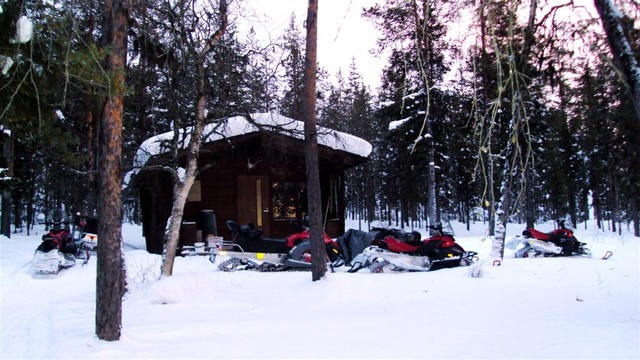 Wilderness cabin Muonio
