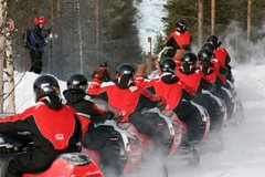 lapland snowmobile holiday