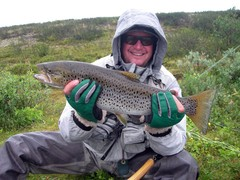 trout fly fishing norway