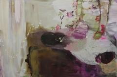 Lootus (2012), 100 cm x 150 cm, akryyli ja öljy kankaalle. Myyty.