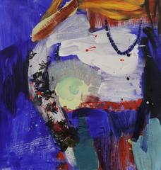 Salla (2012), 110 cm x 80 cm, akryyli kankaalle. Myyty.