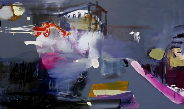 Joutomaa (2009), 95 cm x 60 cm, akryyli ja öljy kankaalle, myyty.
