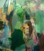 Vapaat kädet (2004), 150 cm x 140 cm, akryyli ja öljy kankaalle, myyty.