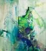 Eroosio (2012), akryyli ja öljy kankaalle. Myyty.