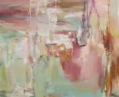 Rannalla (2004), 140 cm x 150 cm, akryyli ja öljy kankaalle, myyty.