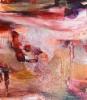 Äidin korurasia (2014), 150 x 130 cm, akryyli ja öljy kankaalle. Myyty.