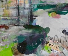 Ripoperä (2015), 50 x 61 cm, akryyli, siirtokuva ja öljy kankaalle. Myyty.