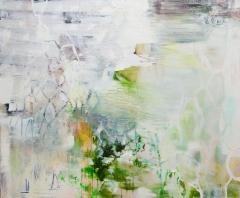 Verso (2017) 125 x 150 cm, akryyli ja öljy kankaalle. Myyty