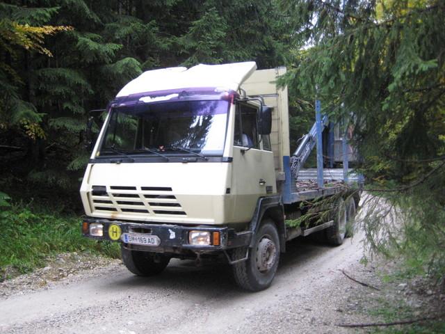 Steyr tukkiauto