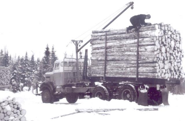 Sisu puutavara-auto vm. 1962