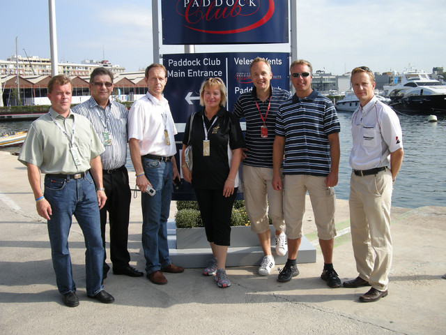Bridgestonen asiakkaat ja MTV3 F1-team
