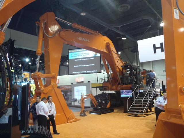 Hitachi oli mukana suurella konevalikoimalla