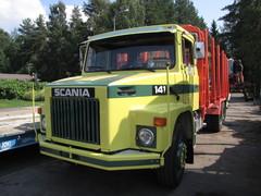 AkuankkaScania ja 14 litran V8.