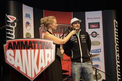 Alppitähti Marcus Sandell kertoi tulevan kauden tavoitteestaan. Bridgestone on mukana tukemassa Suomen Alppimaajoukkuetta.
