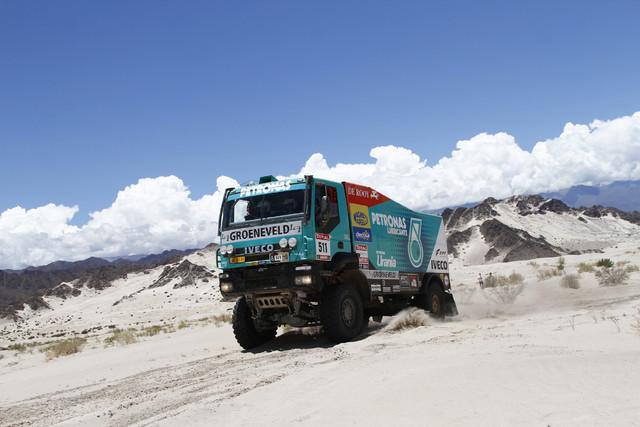 Iveco otti tuplavoiton Dakar 2012 kilpailussa