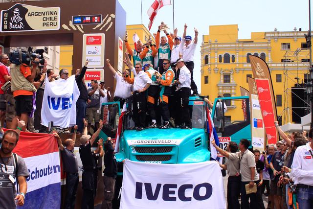 Dakar 2012 starttasi 1.1.2012 ja vaikea reitti kulki Argentiinan, Chilen ja Perun läpi yhteensä 8500 km matkan