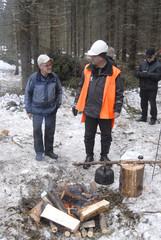 UPM Metsän porukka oli mukana järjestämässä onnistunutta tapahtumaa
