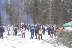 Parisataa ihmistä sai Lempäälän metsään kummasti elämää aikaiseksi