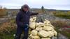 Komatsu Forestin Antero Siuro tekee pari kertaa vuodessa pitkän vaelluksen pohjoisen Lapin ja Norjan erämaihin