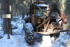 Valmet 865 - Kone Savotta - Antaa Pölkyn Juosta 9.-10.3.2013
