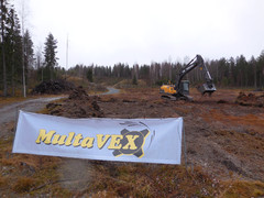 Esimakua työnäytöksistä tarjosi MultaVex seulontanäytös - FinnMETKO 2014 näytteilleasettajapäivät 19.-20.11.201