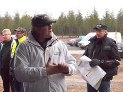 Erkki Eilavaara ja Tapio Hirvikoski Finnmetko Oy:n tekijämiehet - FinnMETKO 2014 näytteilleasettajapäivät 19.-20.11.201