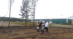 Tälle tontille tulee Ammattilehti.fi messurekka - FinnMETKO 2014 näytteilleasettajapäivät 19.-20.11.201