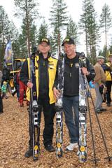 Juha Vidgrén ja Harri Kirvesniemi ottivat kisan Ponsse-suksilla - FinnMETKO 2014, Jämsä, 28.-30.8.2014