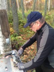 Toivo Aliranta on kova kalamies